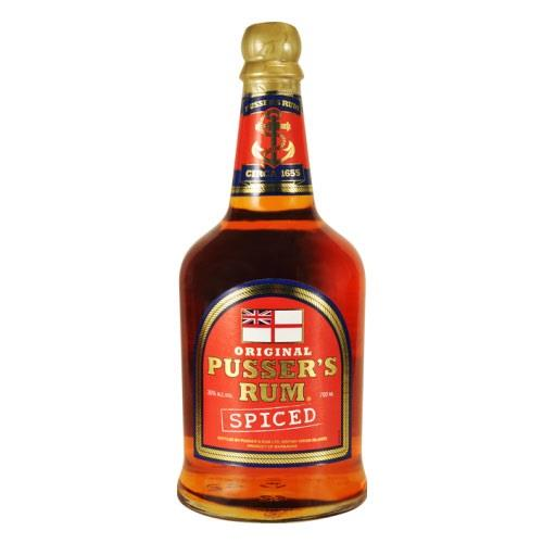 Pussers Spiced Rum 35% 70cl Image 1