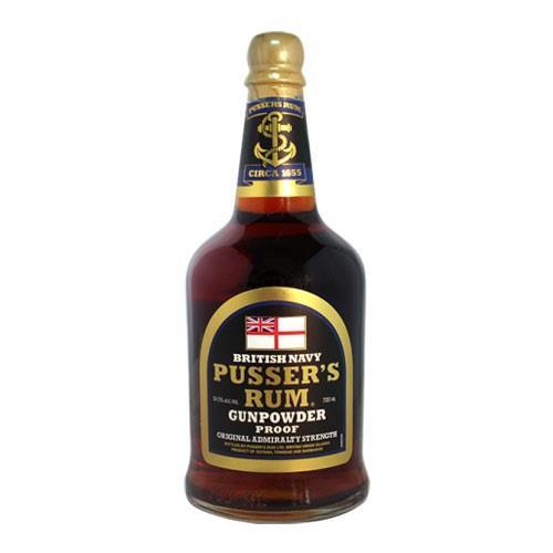 Pussers Gunpowder Proof Rum 54.5% 70cl Image 1