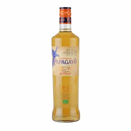 Papagayo Organic Spiced rum 37.5% 70cl Image 1