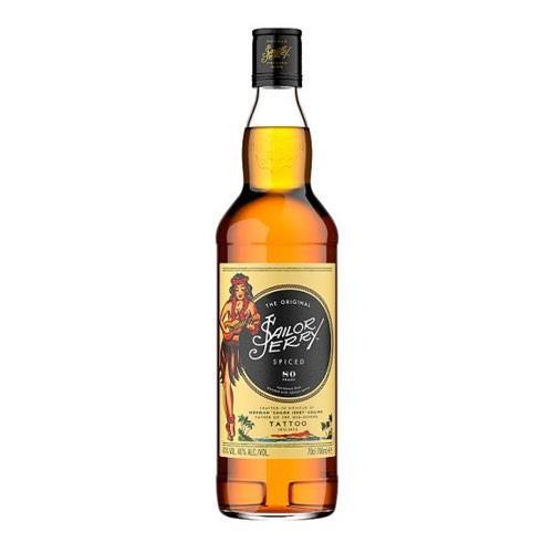 Sailor Jerry Spiced Rum 40% 70cl Image 1