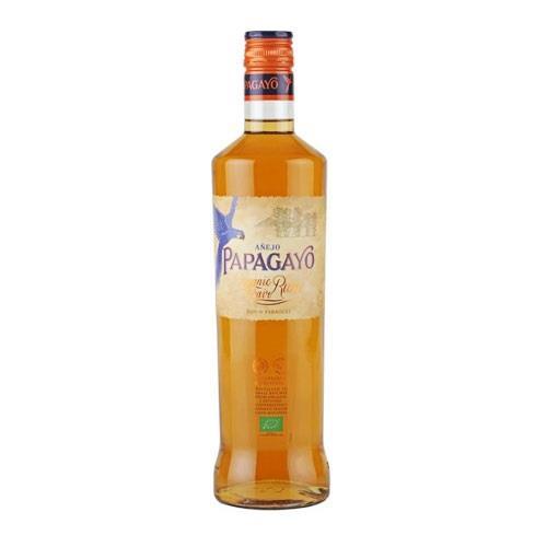 Papagayo Organic Golden Rum 37.5% 70cl Image 1