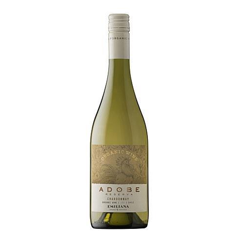 Emiliana Adobe Reserva Chardonnay 2020 Organic 75cl Image 1