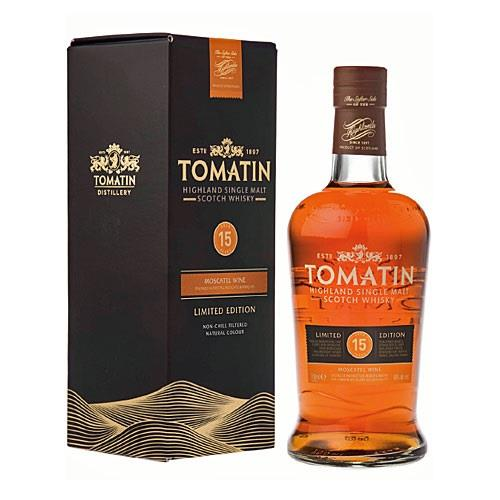 Tomatin 15 years old Moscatel Wine Barri Image 1