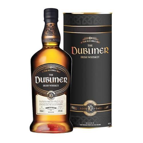 The Dubliner 10 Years Old Irish Whiskey 70cl Image 1