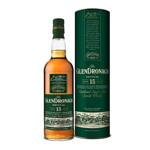 Glendronach 15 years old Revival 2018 Release 70cl Image 1