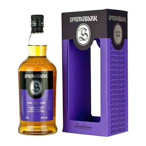 Springbank 18 years old 2018 release 46% 70cl Image 1