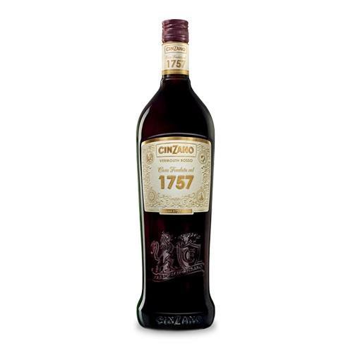 Cinzano 1757 Vermouth Rosso 16% 100cl Image 1