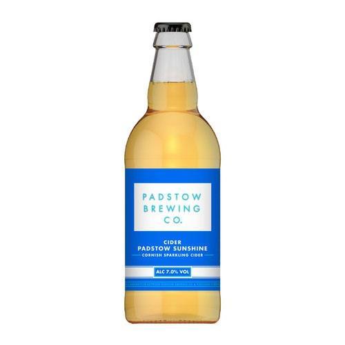 Padstow Sunshine Cider 7% 568ml Image 1