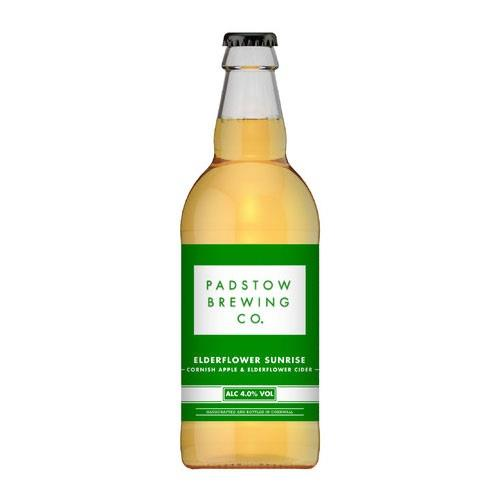 Padstow Elderflower Sunrise Cider 4% 500ml Image 1