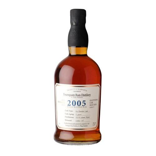 Foursquare 2005 Cask Strength Rum Image 1