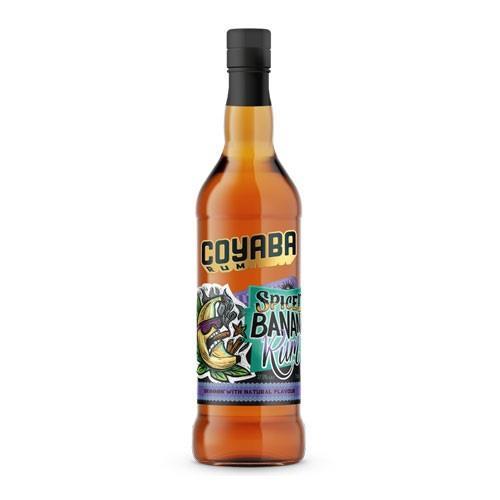 Coyaba Spiced Banana Rum 70cl Image 1