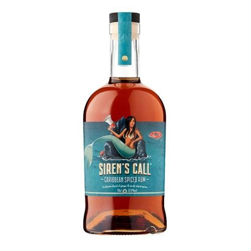 Siren's Call Jamaican Spiced Rum 70cl Image 1