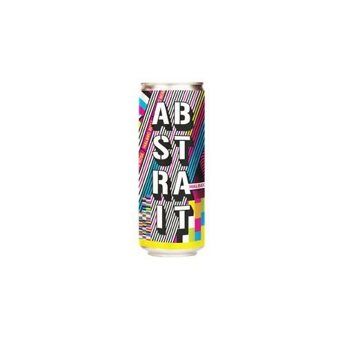 Abstrait Malbec Rose 250ml (Can) Image 1