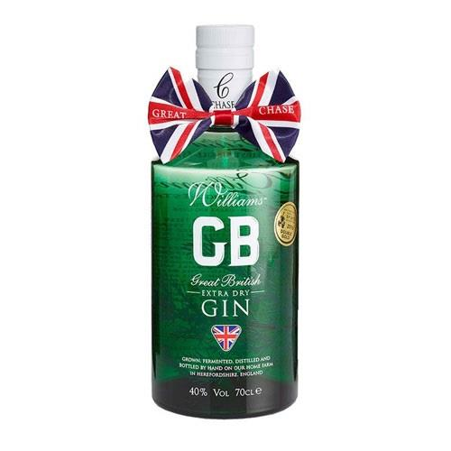 Williams Great Extra Dry British Gin Chase 40% 70cl Image 1