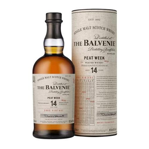 Balvenie The Week of Peat 14 years old Image 1