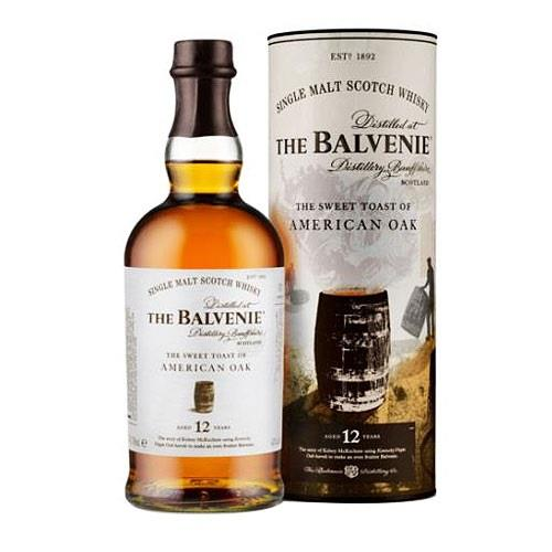 Balvenie 'The Sweet Toast of American Oak' 12 Year Old 70cl Image 1