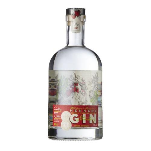 Rude Mechanicals Henners English Summer Gin 70cl Image 1