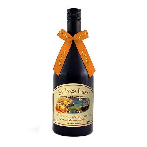 St Ives Lust Salted Caramel Cream Liqueur 70cl Image 1