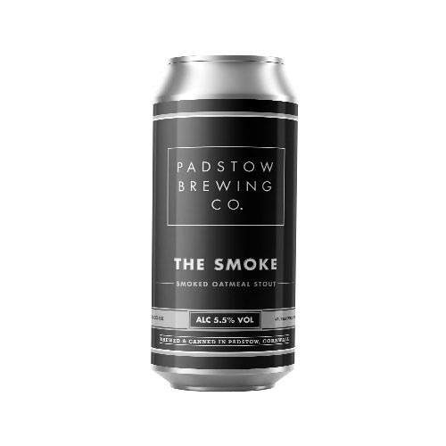 Padstow The Smoke - Smoked Stout 5.5% 440ml Image 1