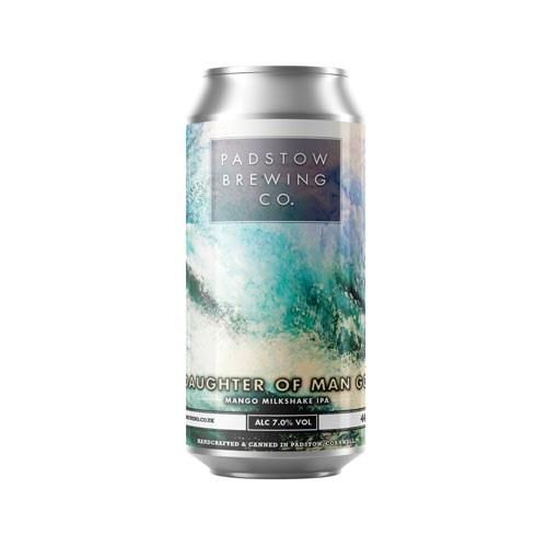 Padstow Daughter of Man Go - Mango Milkshake IPA 7% 440ml Image 1