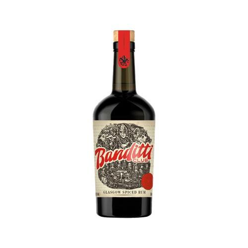 Banditti Club Glasgow Spiced Rum 50cl Image 1