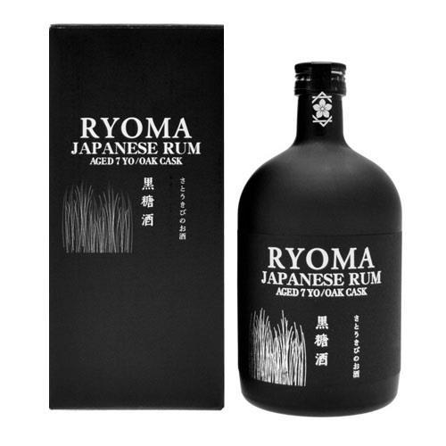 Ryoma Rhum Japonais 7 year old Gold Rum 70cl Image 1