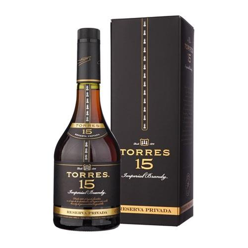 Torres 15 Reserva Privada Brandy 70cl Image 1