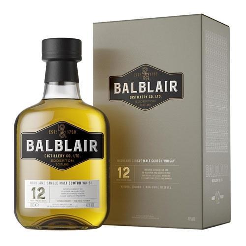 Balblair 12 Year Old 46% 70cl Image 1
