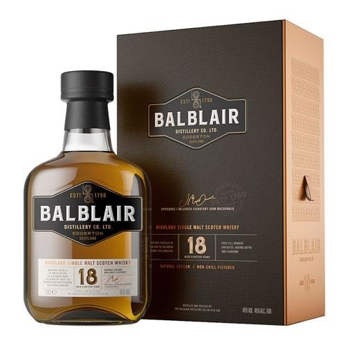 Balblair 18 years old 46% 70cl Image 1