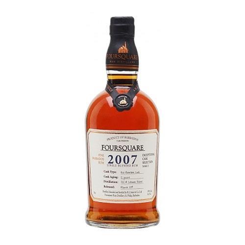 Foursquare 2007 Cask Strength Rum 59% 70cl Image 1