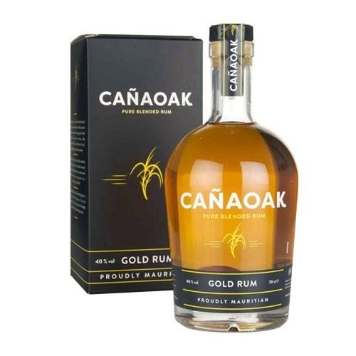 Canaoak Pure Blended 8 Year Old Gold Rum 70cl Image 1