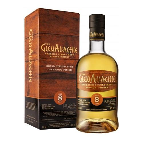 GlenAllachie 8 years old Koval Rye Quarter Cask Wood Finish 48% 70cl Image 1