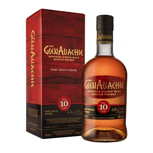 GlenAllachie 10 Year Old Port Wood Finish 70cl Image 1