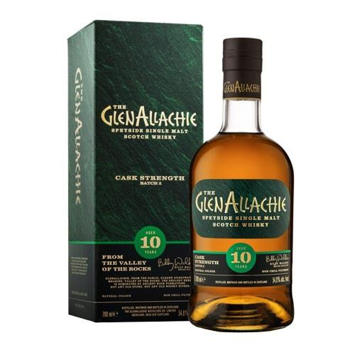 GlenAllachie Cask Strength 10 Year Old Batch 3 58.2% 70cl Image 1