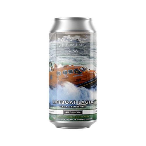 Padstow Lifeboat Lager 3.9% 440ml Image 1