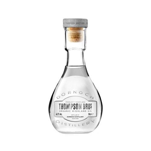 Thompson Bros Organic Highland Gin 45.7% 50cl Image 1