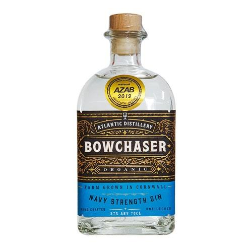 Atlantic Distillery Bowchaser Organic Navy Strength Cornish Gin 57% 70cl Image 1