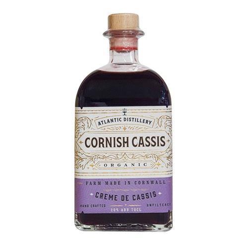 Atlantic Distillery Organic Cornish Creme de Cassis 20% 70cl Image 1