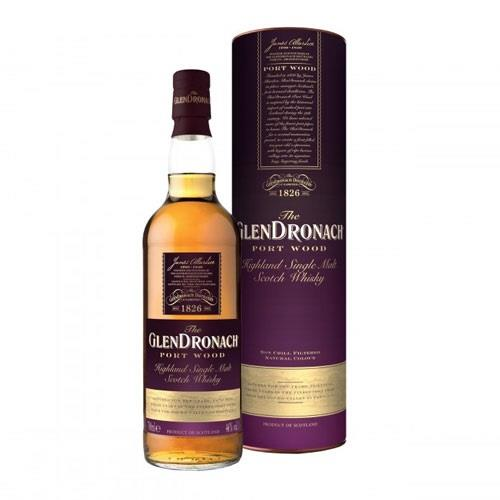 The Glendronach Port Wood 10 Year Old 46% 70cl Image 1