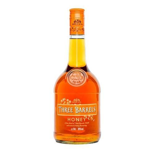 Three Barrels Honey 70cl Image 1