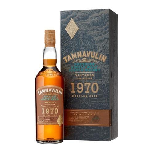 Tamnavulin 1970 Vintage 40% 70cl Bottled 2019 Image 1