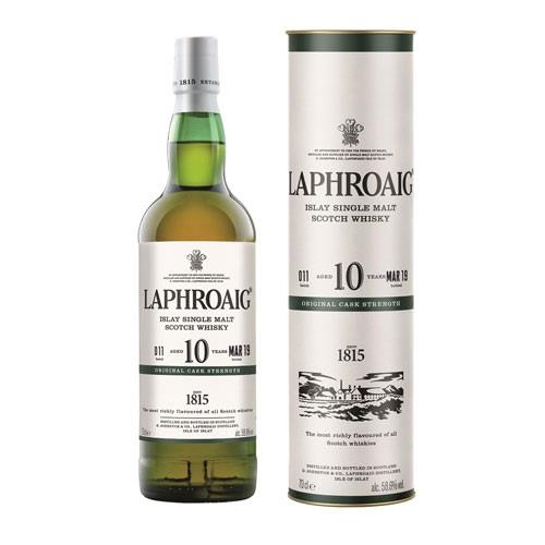 Laphroaig 10 years old Cask Strength Batch 011 58.6% 70cl Image 1