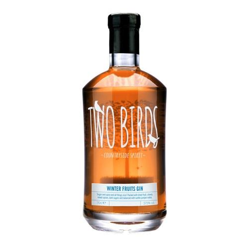 Two Birds Winter Fruits Gin 70cl Image 1