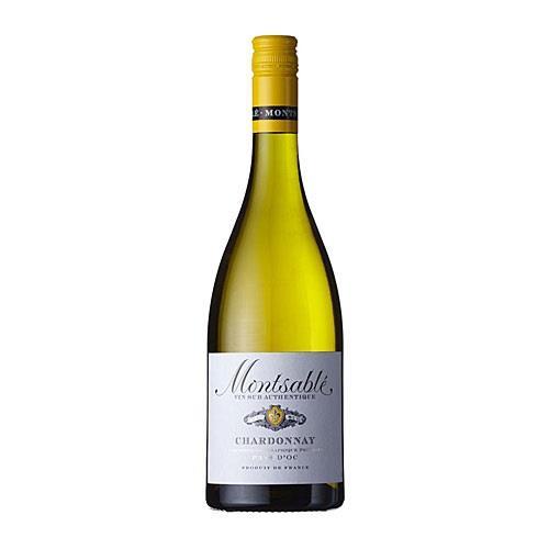 Montsable Chardonnay 2018 Pays D'Oc 75cl Image 1