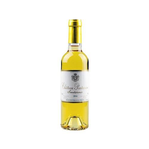 Chateau Partarrieu 2016 Sauternes 375ml Image 1
