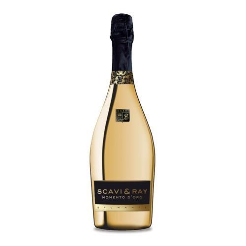 Scavi & Ray Momento d'Oro Gold Bottle Spumante 75cl Image 1