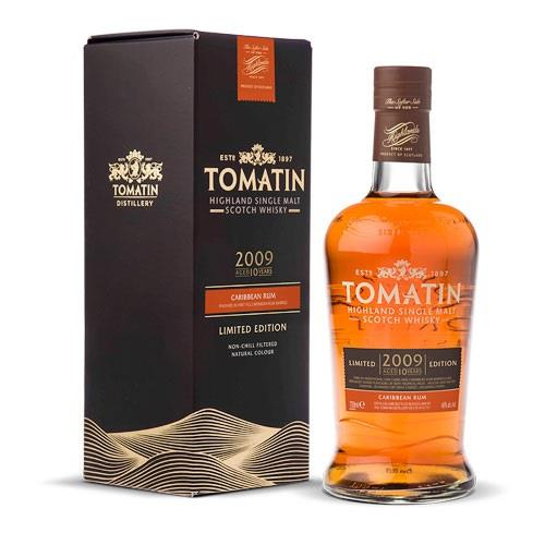 Tomatin 10 Year Old 2009 Rum Cask Finish Single Malt 70cl Image 1