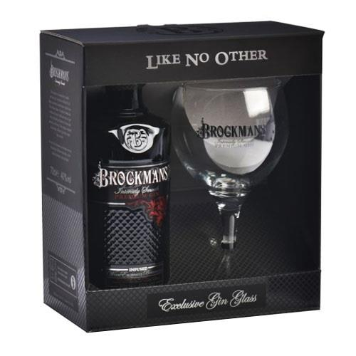 Brockmans Premium Gin With Glass Pack 70cl Image 1