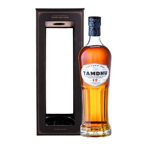 Tamdhu 12 Year Old Single Malt Whisky 70cl Image 1