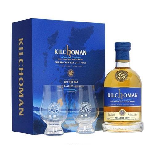 Kilchoman Machir Bay Gift Pack 70cl Image 1